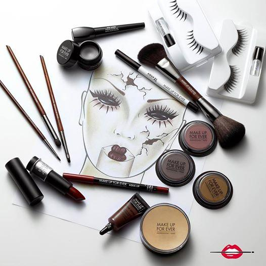 make up for ever is your halloween destination visit make up for ever for a halloween makeup lesson group class or to get your makeup done